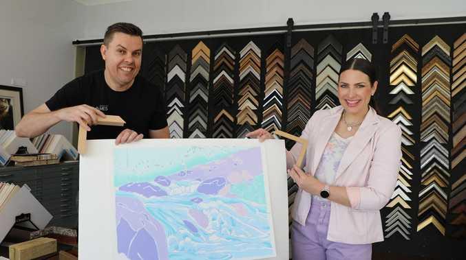 Dream-like: Taste of Melbourne art scene arrives in Rocky