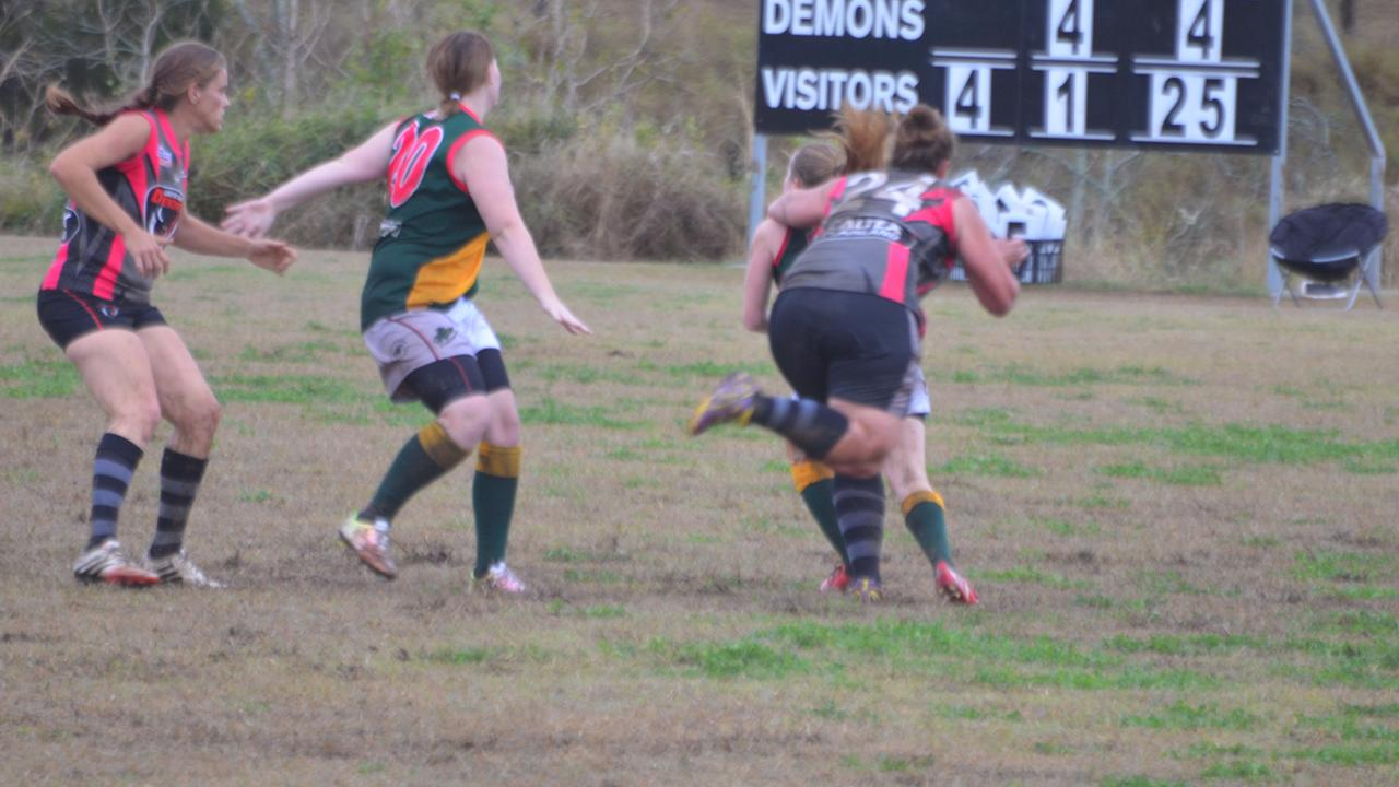 Goondiwindi will return to the AFLDD women's competition. Photo: File