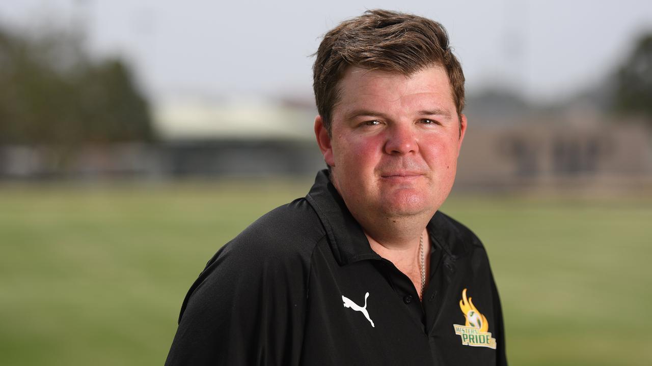 Western Pride head coach Andrew Catton. Picture: Rob Williams