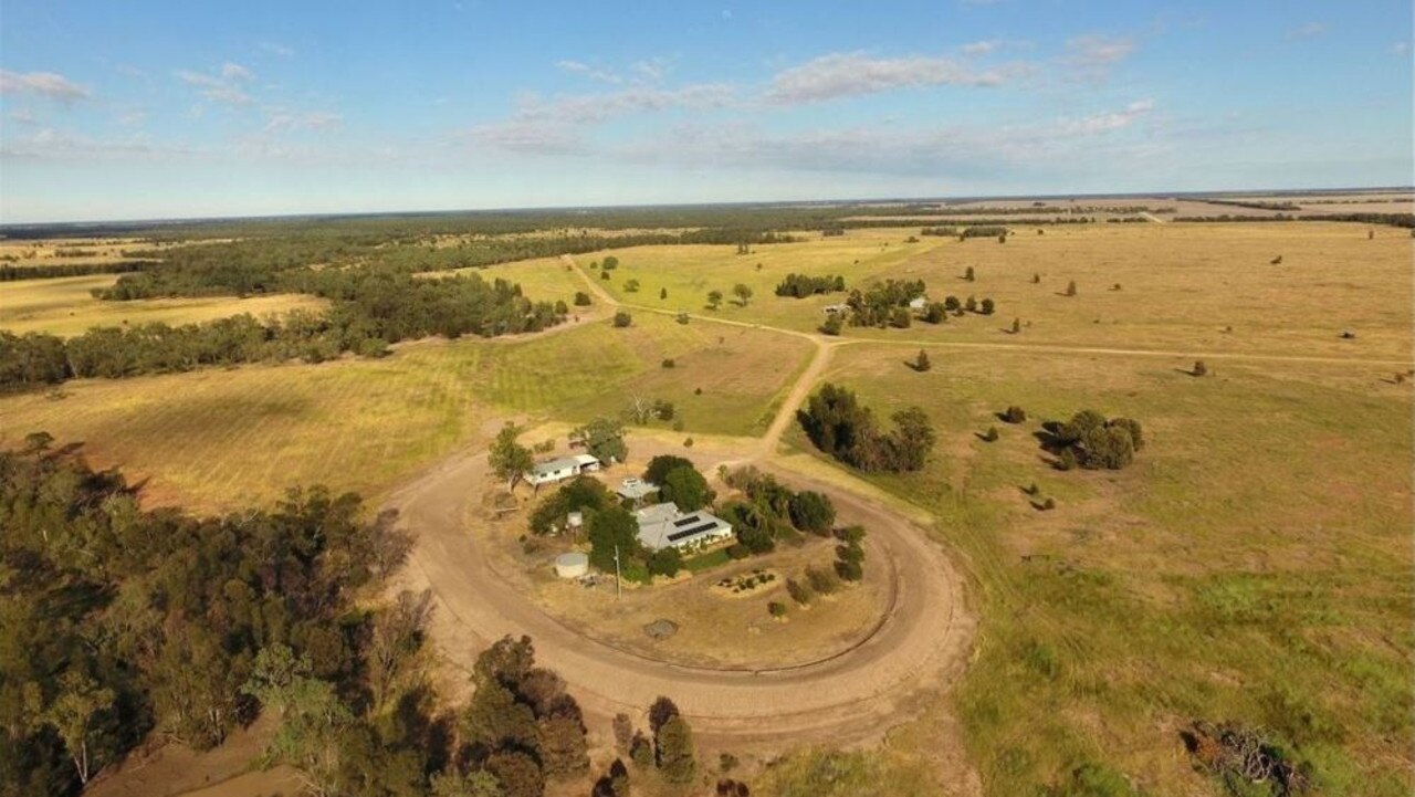 GOING GONE: The Dunkary in Condamine sold for 8 million. Pic: Nutrien Harcourts
