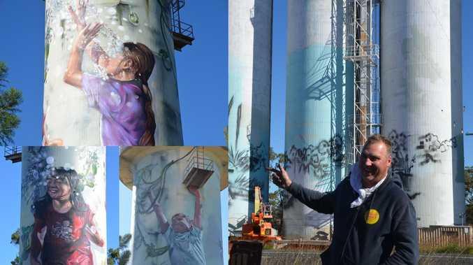 BREATHTAKING: Burnett art trail nearing completion
