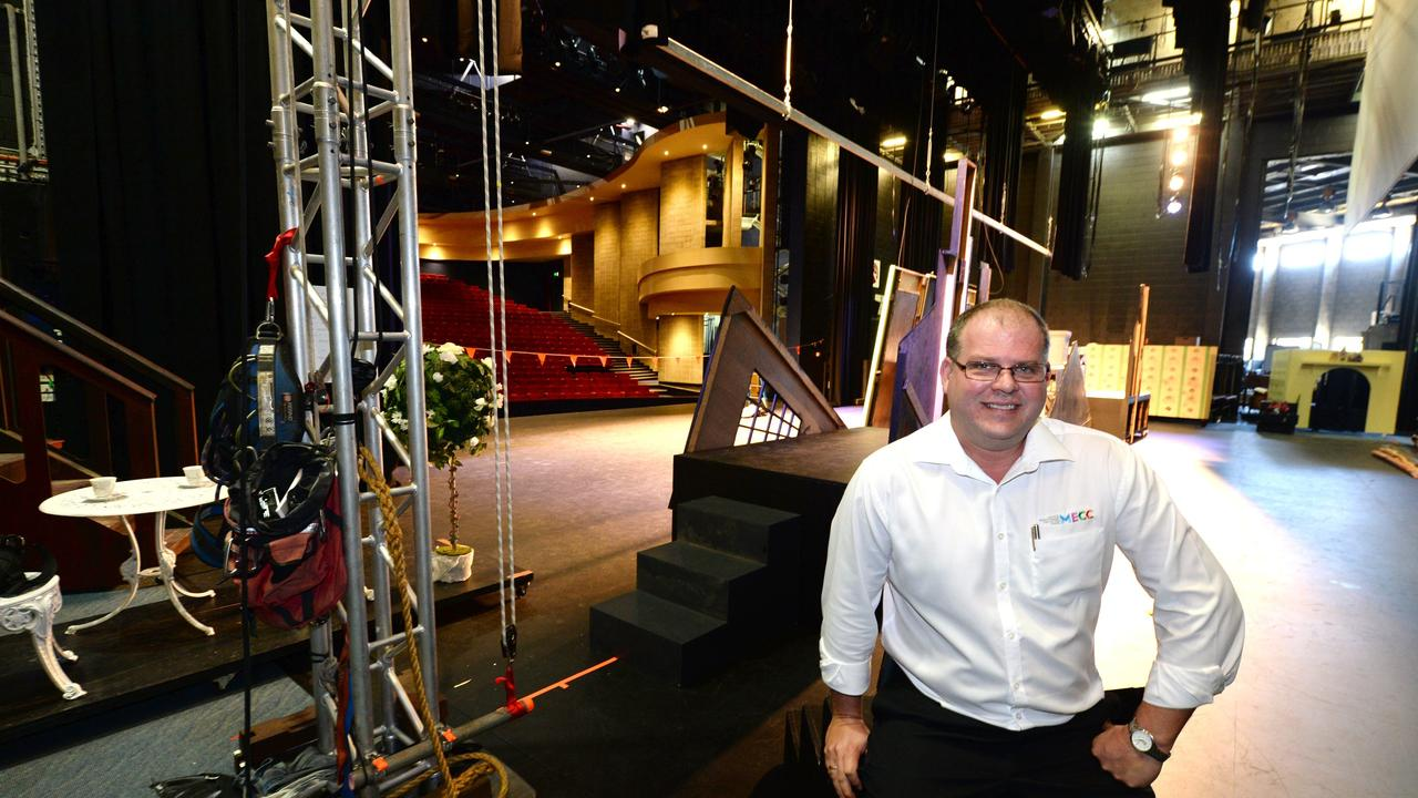 Mackay Entertainment and Convention Centre and events manager Andrew Bobeldyk. Picture: Lee Constable