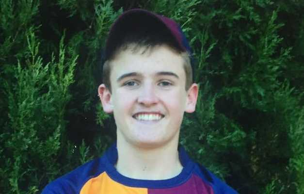 Patrick Finn Wallace, 18, died as a result of injuries sustained in the crash with a semi-trailer on the Gore Highway about 5.50pm Friday.