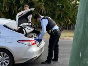 BREAKING: Man resisting arrest in Avoca