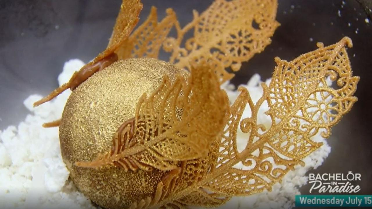 MasterChef immunity goes to Reynold's spectacular Golden Snitch. Picture: Channel 10