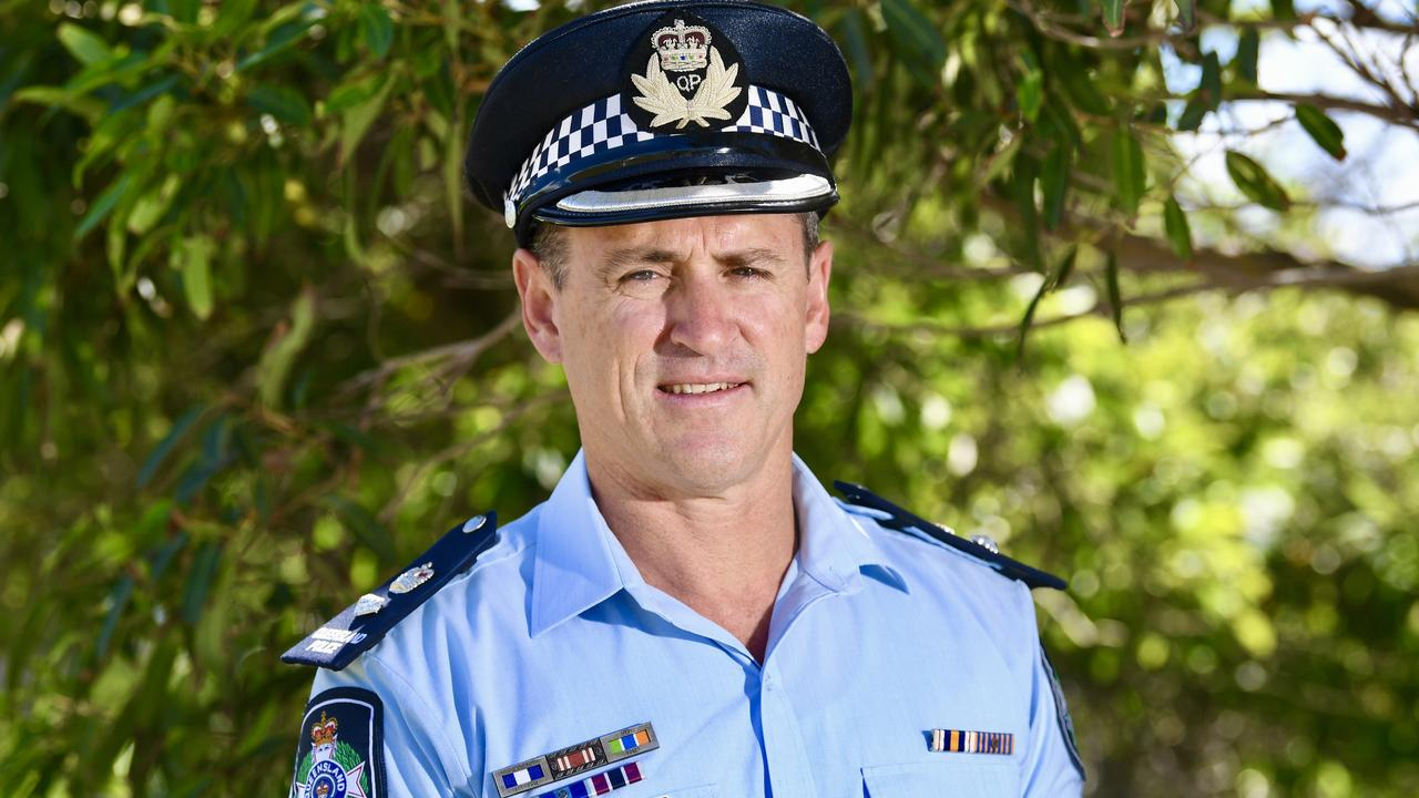 Craig Hawkins recently replaced Darryl Johnson as head of the Sunshine Coast Police.