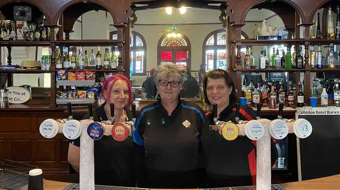 WELCOME BACK: Warwick pubs' first big weekend