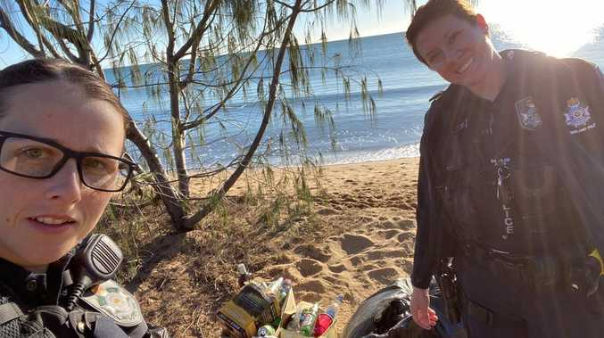 Region's beach left trashed after weekend party