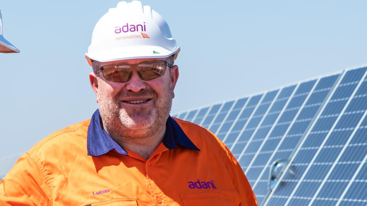 Adani Mining chief executive Lucas Dow.