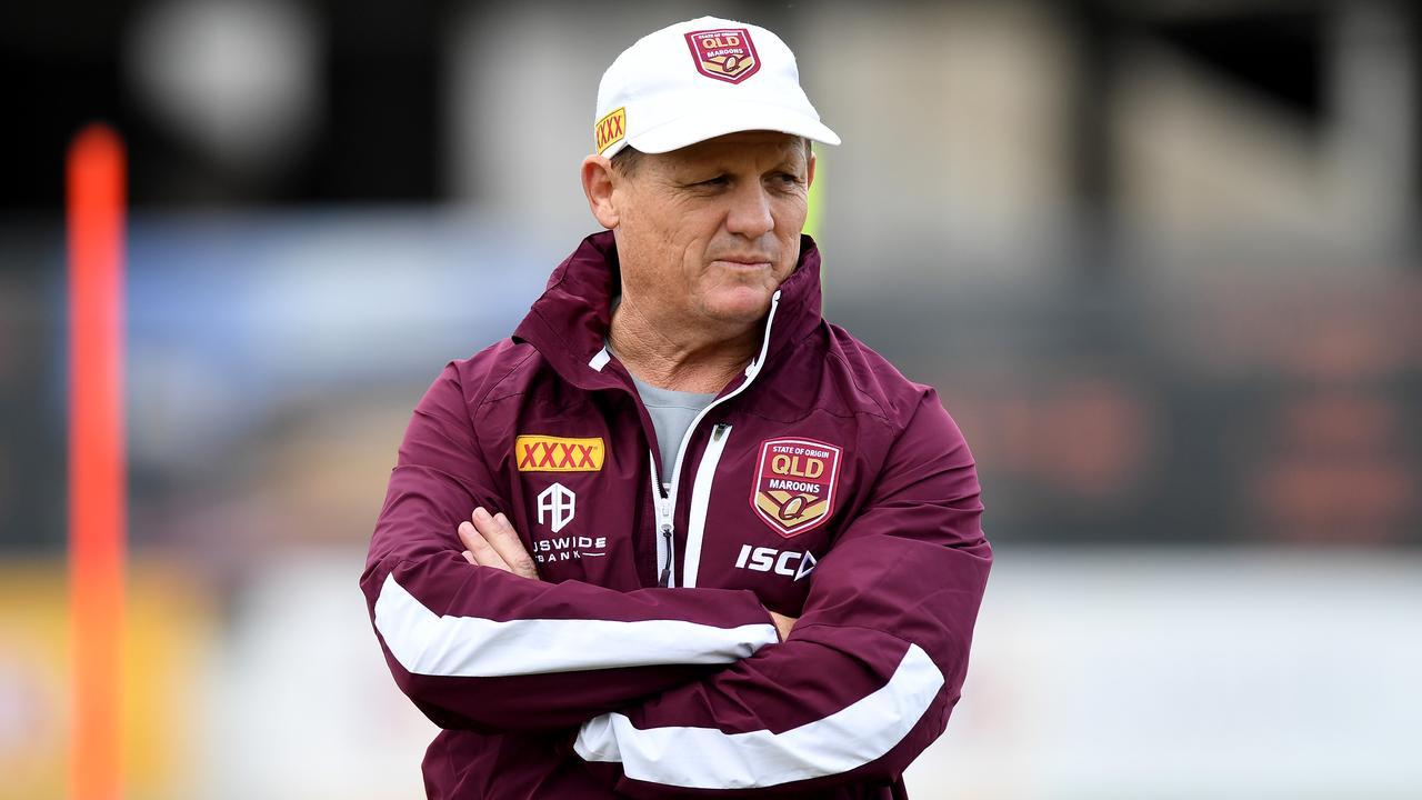 Maroons coach Kevin Walters won't answer Brisbane's SOS. Picture: Bradley Kanaris/Getty