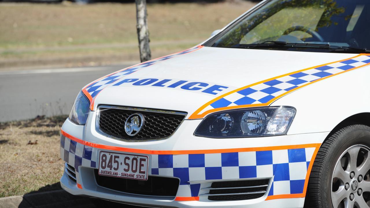 Police responded to an oil slick on Fitzroy Street, Rockhampton, this morning.