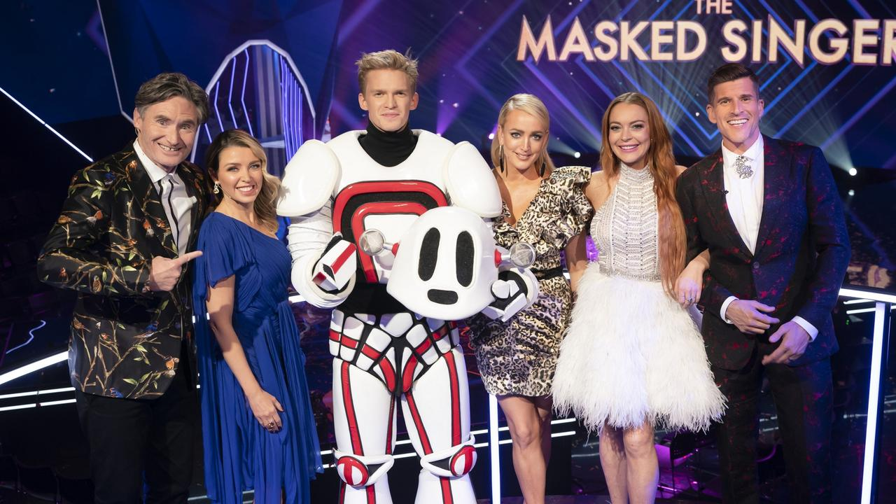 Cody Simpson Wins The Masked Singer Australia.