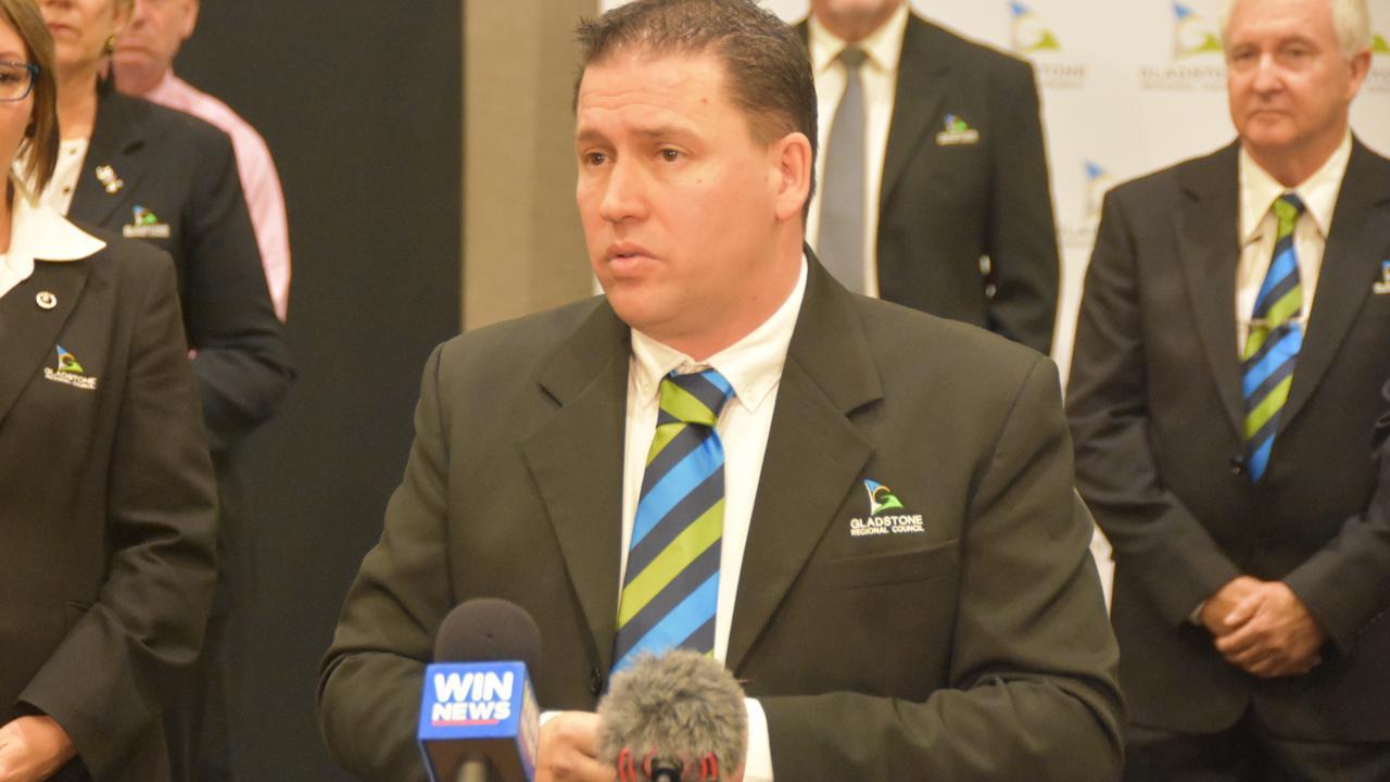 Gladstone Regional Council Mayor Matt Burnett addressed media after handing down the 2020/21 Budget and Operational Plan.