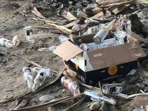Beach litterbugs need a 'wake up call'
