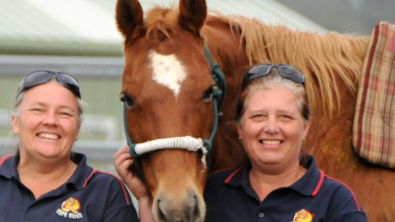 Hope Reins: Kylie Read and Ruth Polley. Photo Tanya Easterby / The Gympie Times