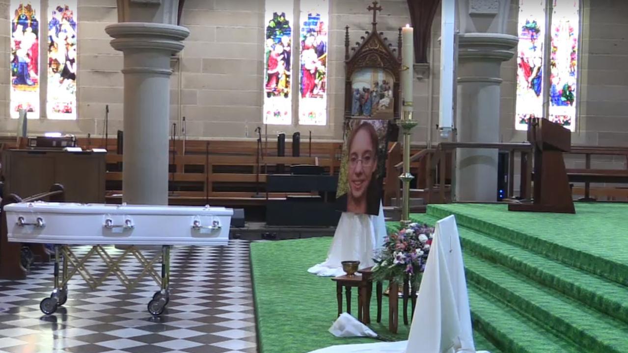 Karen Gilliland's funeral is being livestreamed.