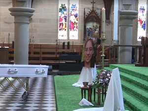 LIVE: Karen Gilliland's funeral livestreamed to public