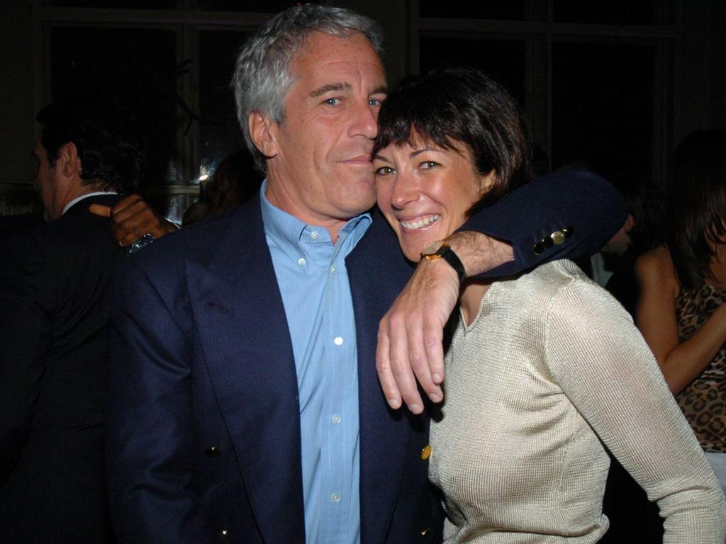 Jeffrey Epstein and Ghislaine Maxwell, pictured together in 2005. Picture: Getty Images