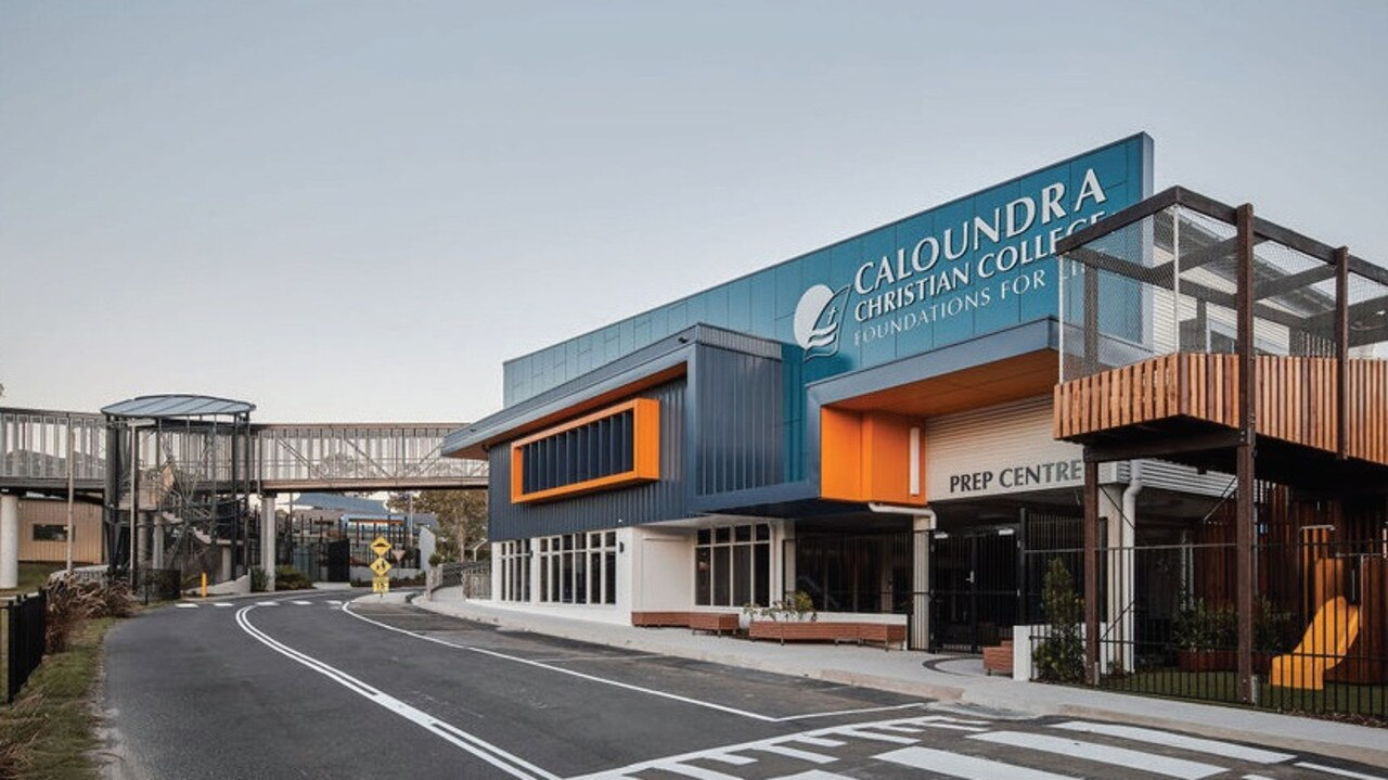 Caloundra Christian College's Primary Learning Centre. Picture: Contributed.