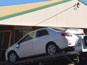 GALLERY: Car removed from house after smashing through wall