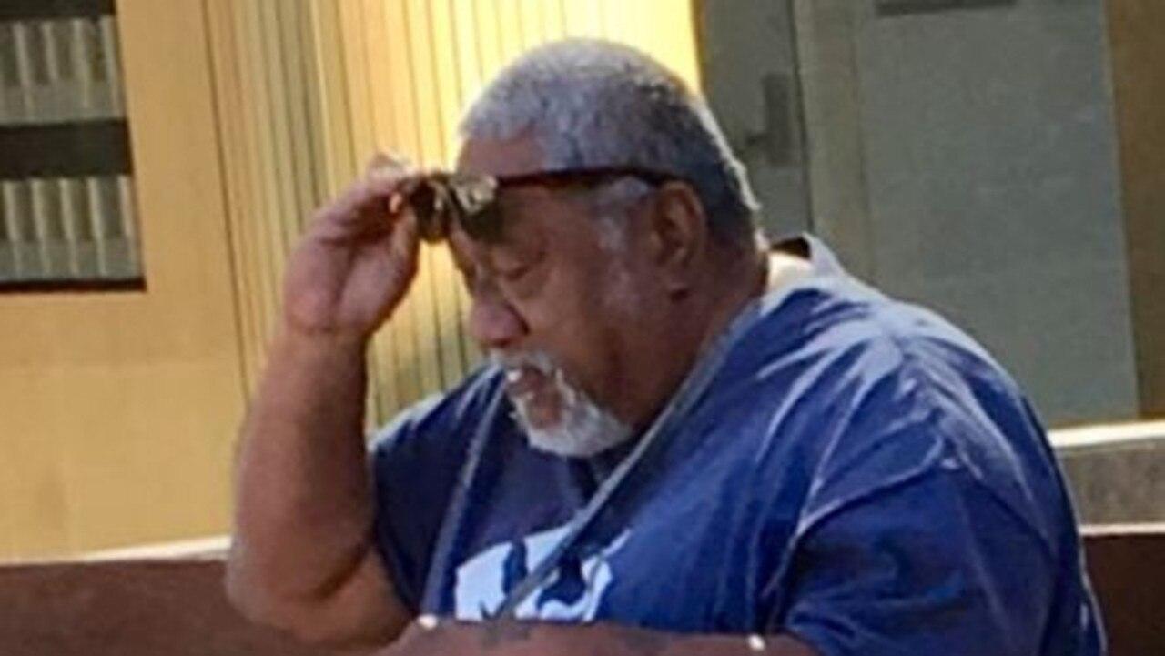 Michael Rangi stole an 80-year-old woman's purse when she was on a smoke break.