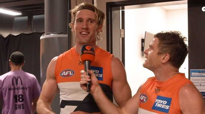 Local boy Keeffe stands tall for Giants in AFL return