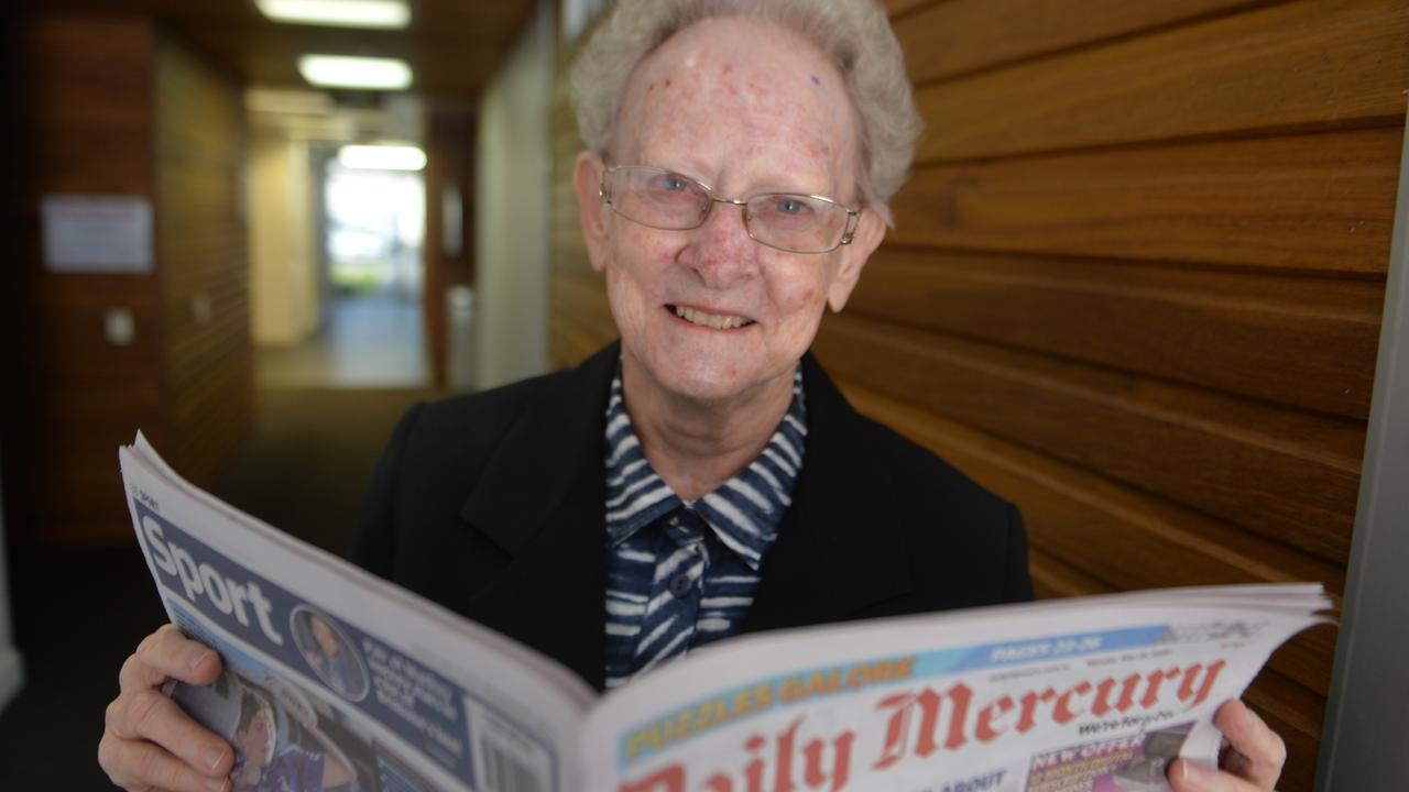 Mackay historian Berenice Wright. Picture: Zizi Averill