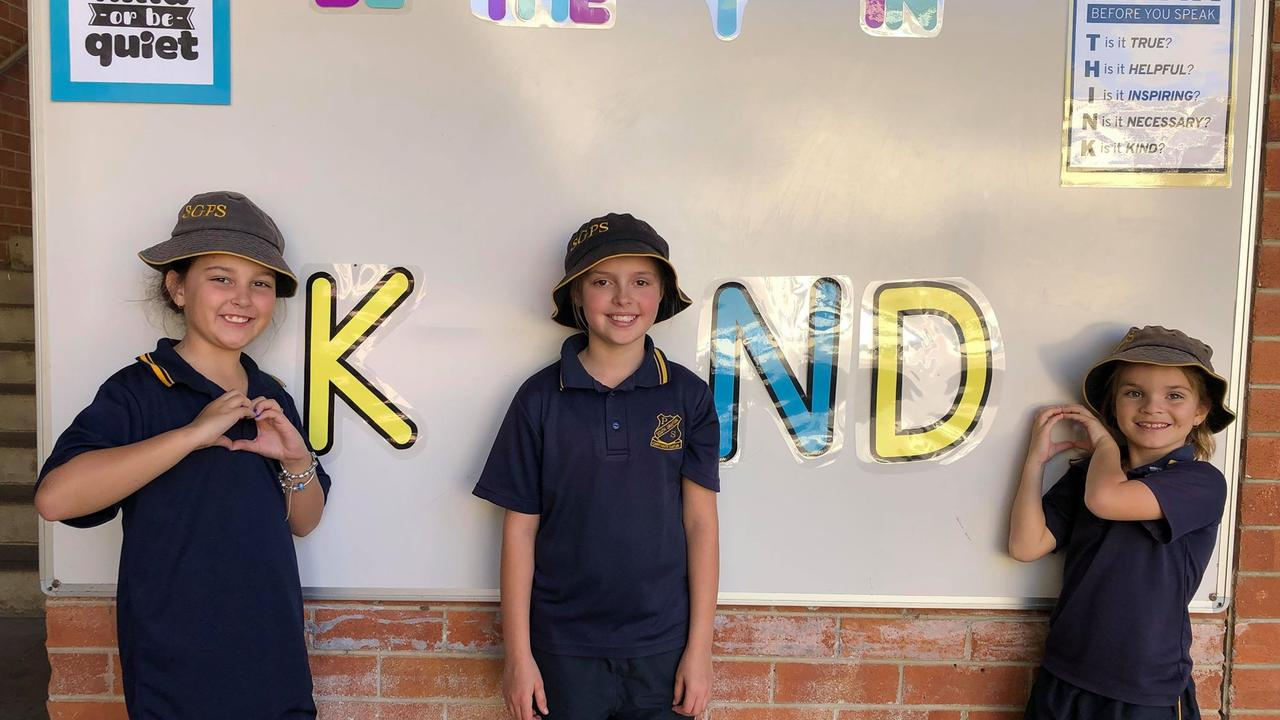 South Grafton Public School Stage 2 were focusing on the importance of being kind last week. We can all be the i in kind!