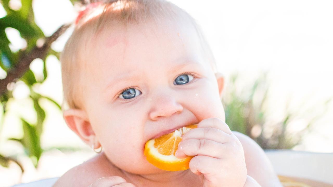 Heidi Grace Mole, 9 months old