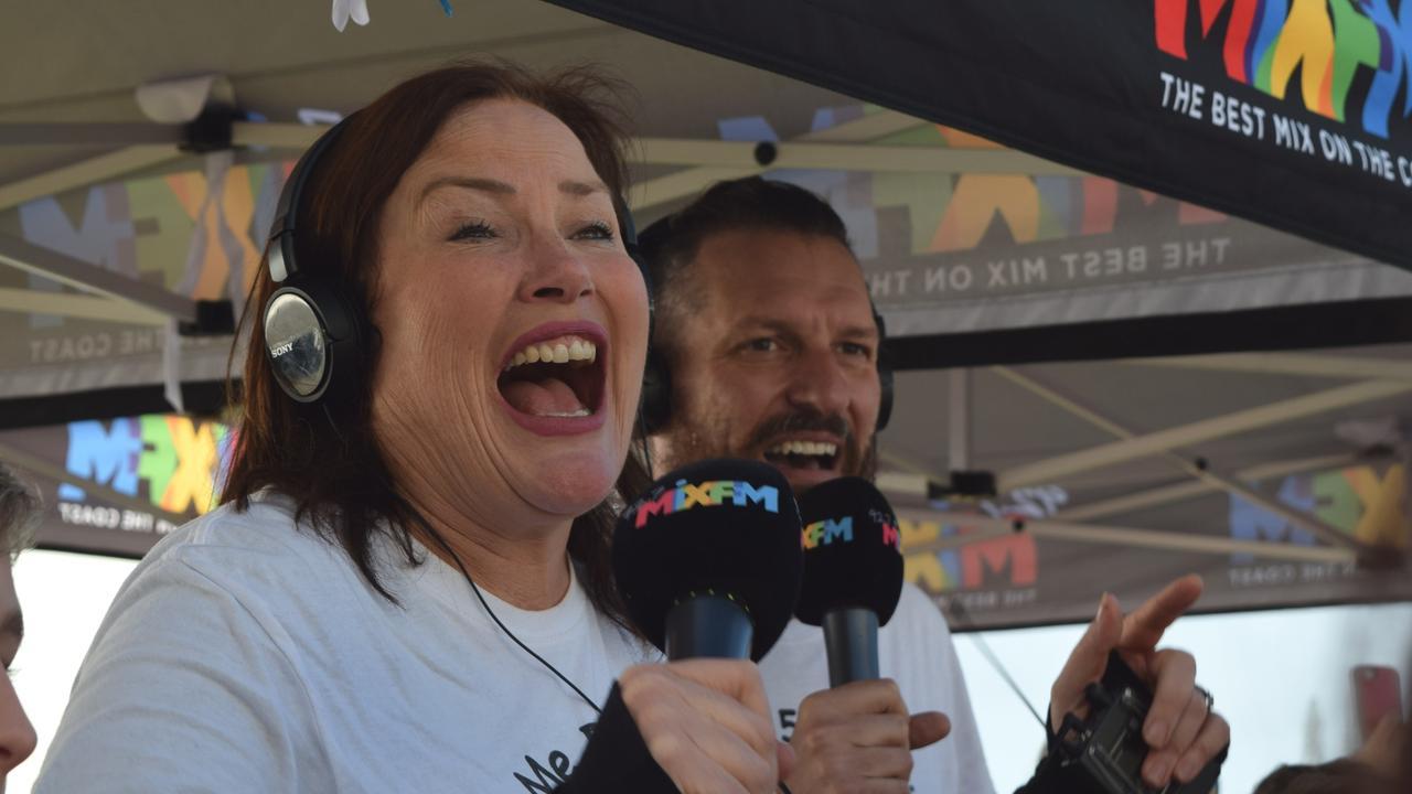 92.7 Mix FM breakfast announcer Caroline Hutchinson.