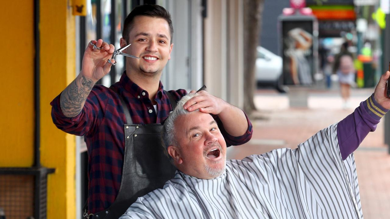 Voting is now open for readers to decide just who is Mackay's best barber for 2020. Picture: Glenn Ferguson