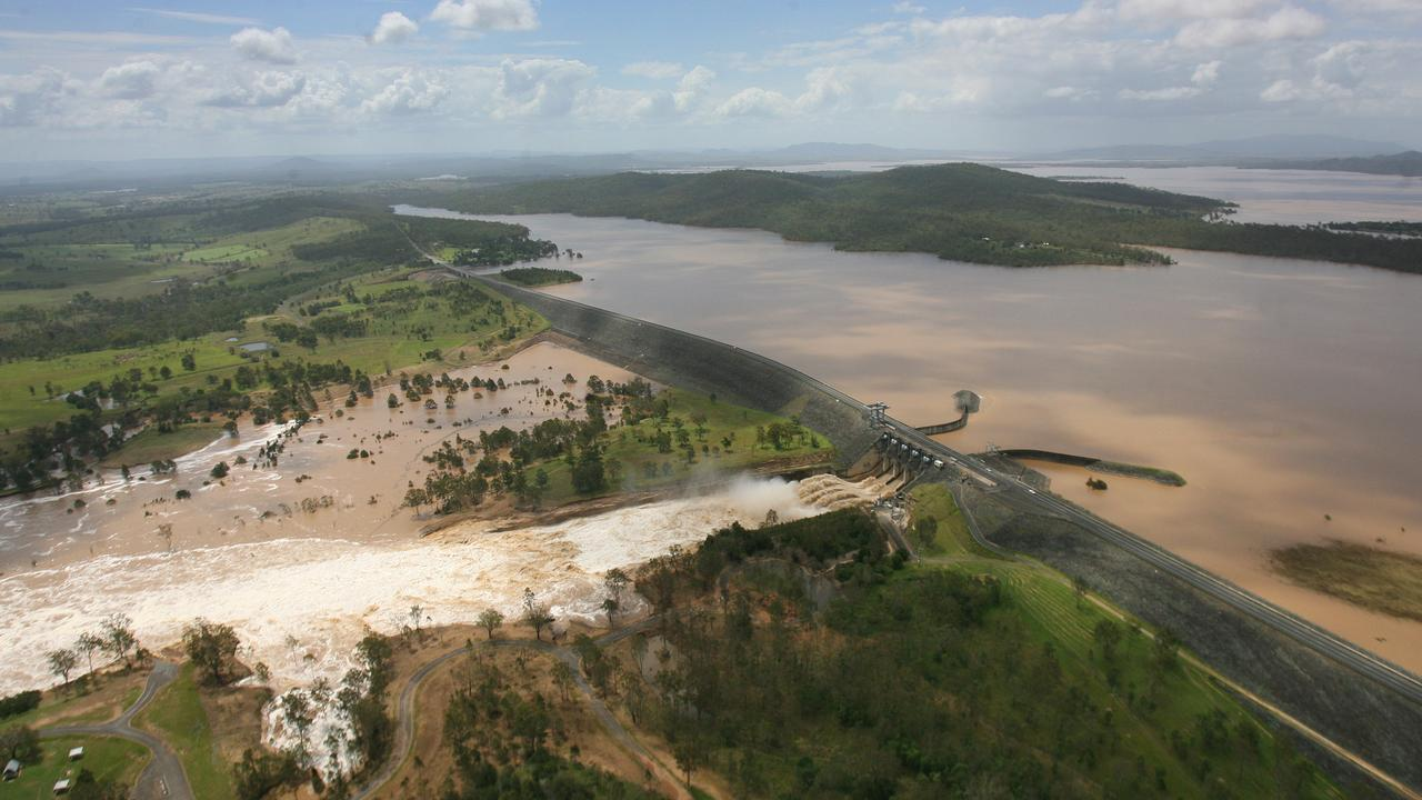 Wivenhoe Dam on SaturdayPhoto: Rob Williams / The Queensland Times IPS150111CHOP17R