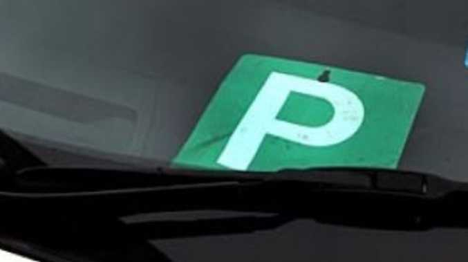 P-Plater busted driving with drug in saliva