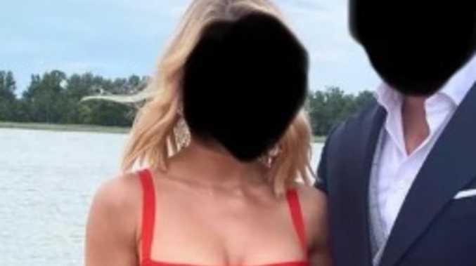 'Too hot': Wedding guest's dress divides