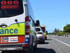 Paramedics rush to crash near Bruce Highway