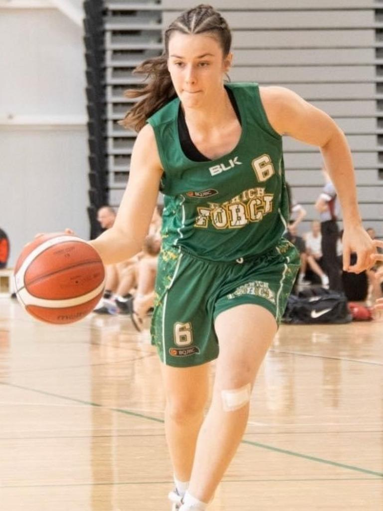 Ipswich Force basketballer Charlotte Hegvold