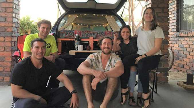How CQ residents embraced group of stranded backpackers