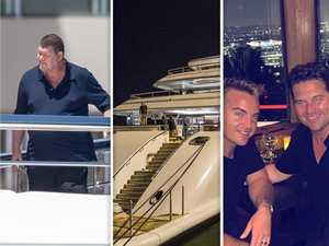 James Packer caught in the middle of high seas drama