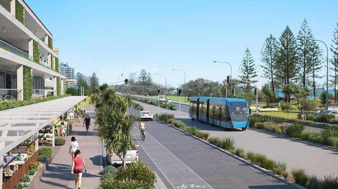 'WALL OF DEVELOPMENT': Light rail plans revealed