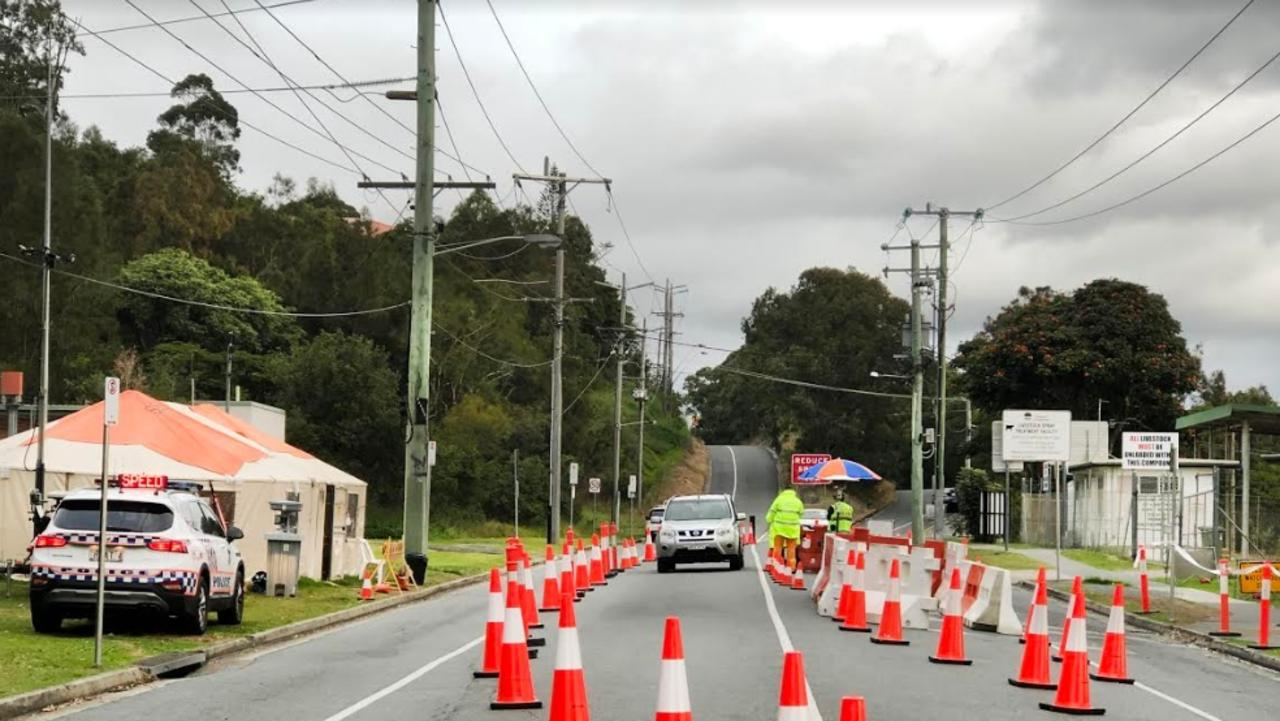 A border blockage on Miles Street and Ducat Street has reopened days before scheduled. Scott Powick Newscorp