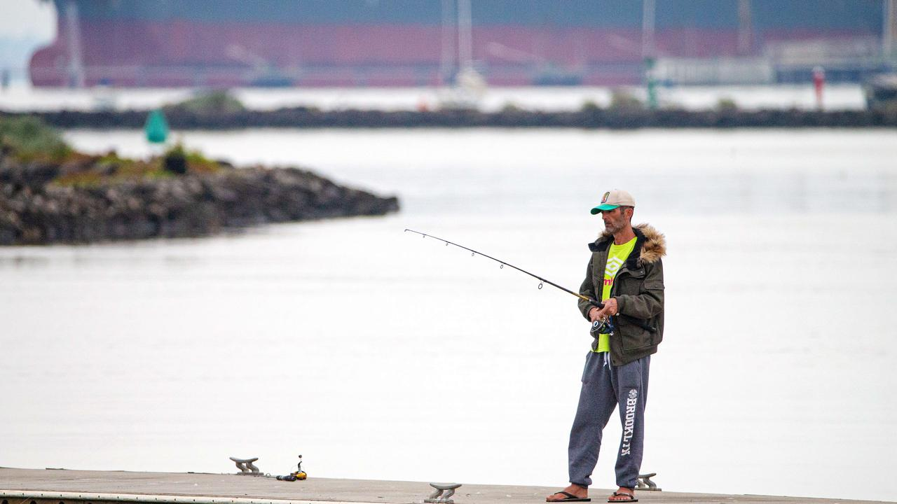 Recreational fishing banned was previously banned under COVID-19 lockdowns in Victoria. Picture: Mark Stewart.