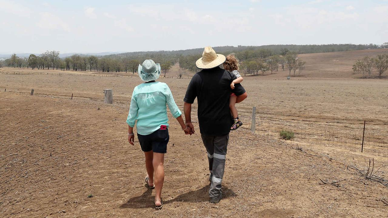 DROUGHT DRAGS ON: Residents are unlikely to face such punitive water restrictions again. Picture: Peter Wallis.