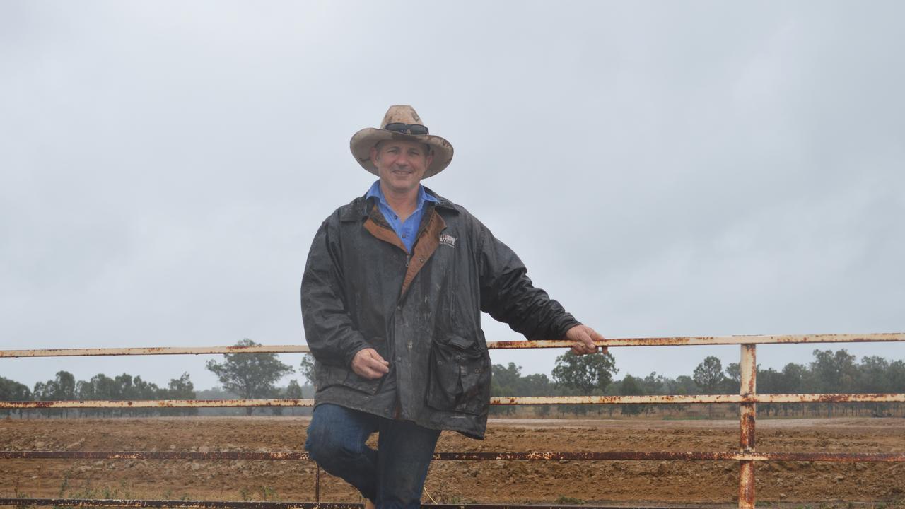 Stephen Schmidt on his Victoria Hill property as development begins on an eventual 16,200 head feedlot.