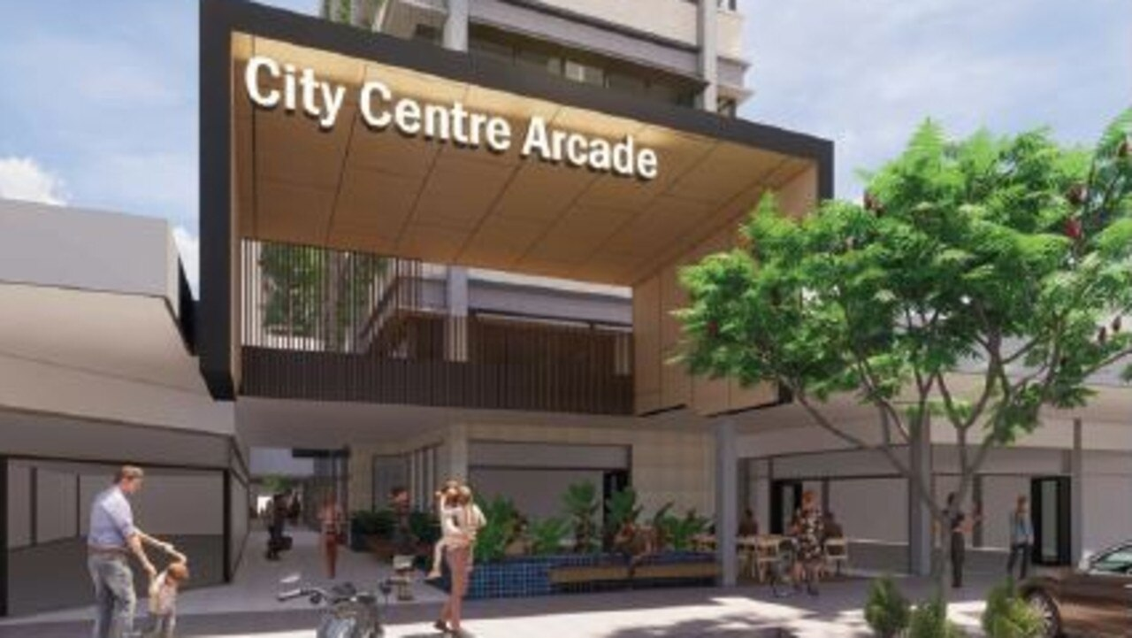 MAJOR DEVELOPMENT: The proposed SSS Tower that will be built in the City Centre Arcade on Bourbong St.
