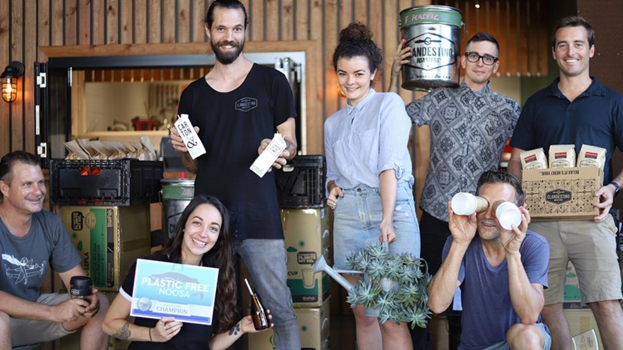 Noosa businesses are right behind Plastic Free July.