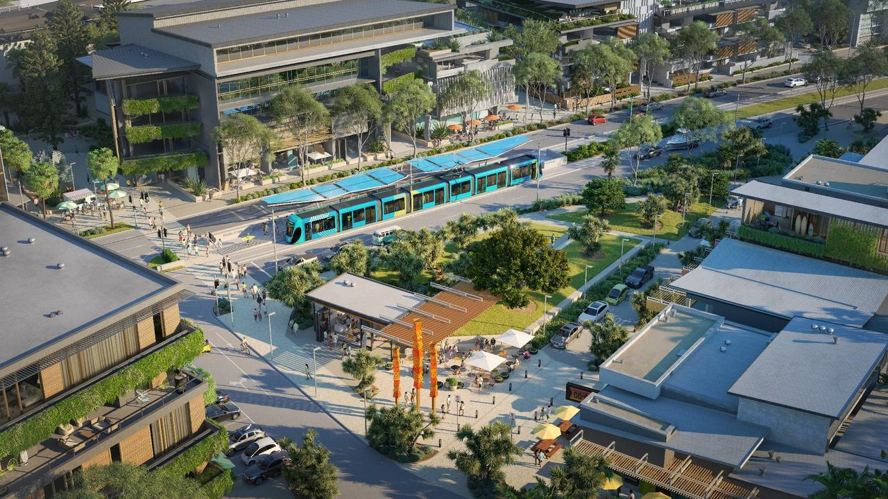Sunshine Coast Council has revealed concept designs of transport options for the Sunshine Coast Mass Transit Plan.