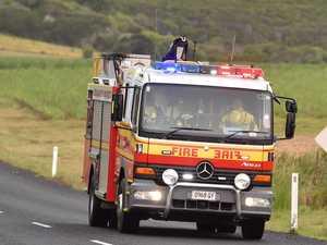 Two hospitalised after caravan crash