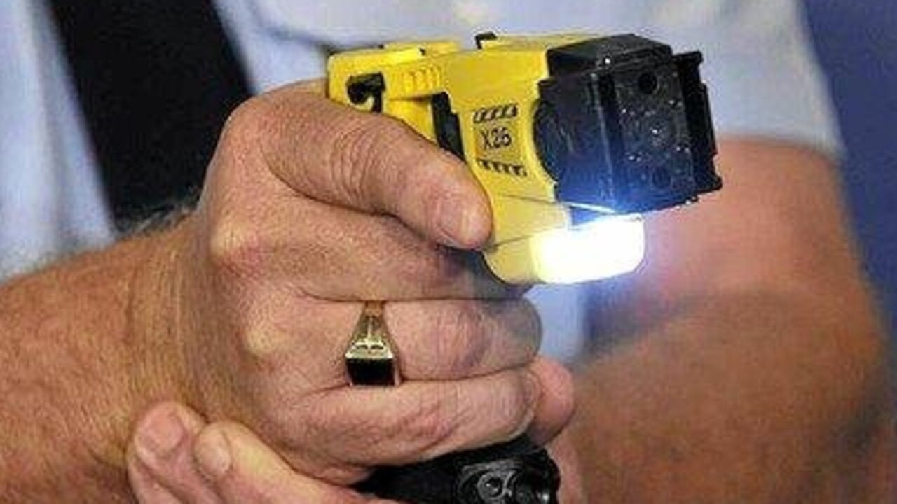 The police tasered the man after he became aggressive in the Gympie watchhouse. Picture: File photo
