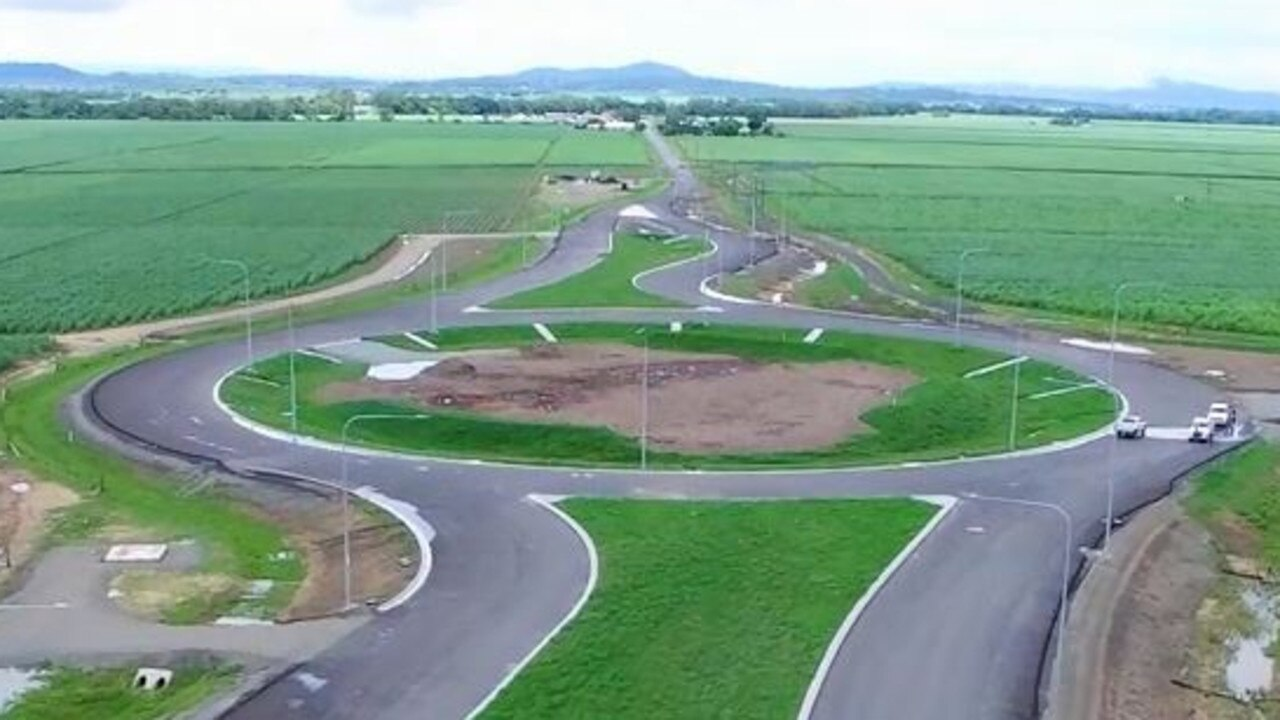 Footage from the Department of Transport and Main Roads shows the almost complete Mackay Ring Road. Motorists have been using this part of the road for a while.