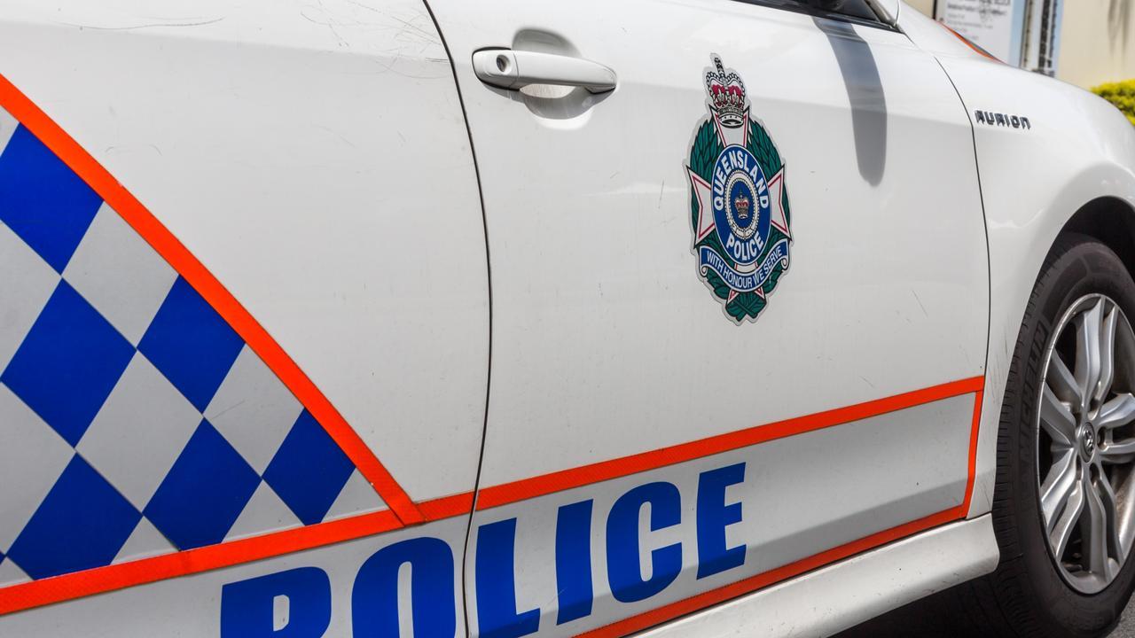 Police Car in Broadbeach on the Gold Coast of Australia